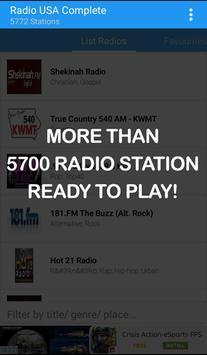 USA Radio Complete poster