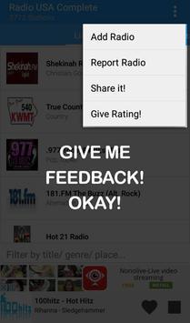 USA Radio Complete apk screenshot