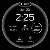 Simple Digital Watch Face icon