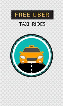 Free Taxi Trips - Cab Promo Codes poster