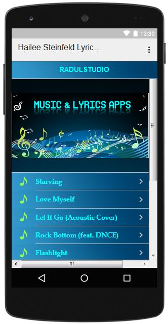 Hailee Steinfeld Lyrics Music for Android - APK Download