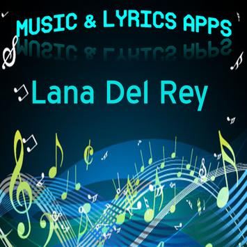 Lana Del Rey Lyrics Music poster