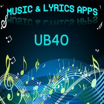 UB40 Lyrics Music poster