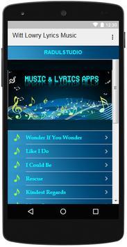 Witt Lowry Lyrics Music screenshot 2