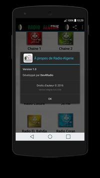 Radio-Algerie apk screenshot