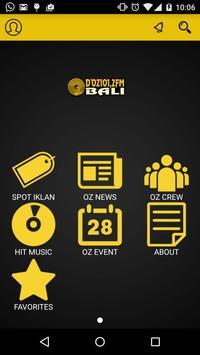 OZ RADIO active poster