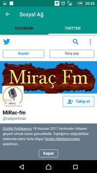 RadyoMiraçNet apk screenshot