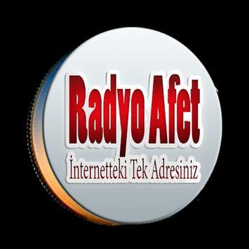 Radyo Afet poster
