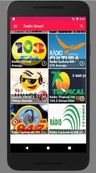 Radio Brazil screenshot 1