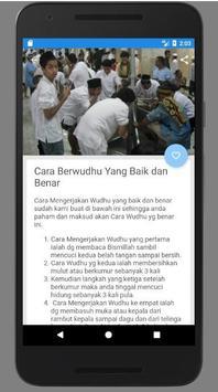Cara Ambil Air Wudhu screenshot 1