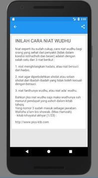 Cara Ambil Air Wudhu screenshot 2