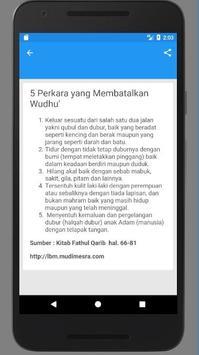 Cara Ambil Air Wudhu screenshot 3