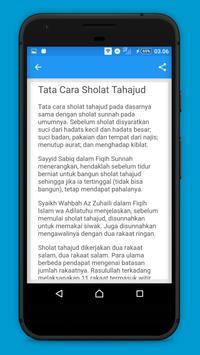 Panduan Sholat Tahajud screenshot 1