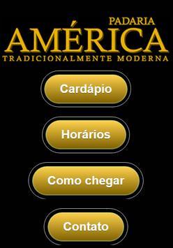 Padaria América poster