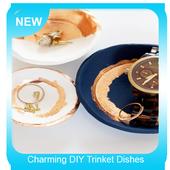 Charming DIY Trinket Dishes icon