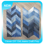 Clever DIY Old Jeans Craft Projects icon