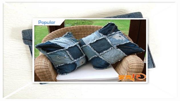 Clever DIY Old Jeans Craft Projects screenshot 1