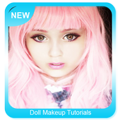 Doll Makeup Tutorials icon