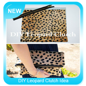 DIY Leopard Clutch Idea icon