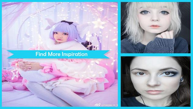 Kawaii Cosplay Makeup Tutorial screenshot 4