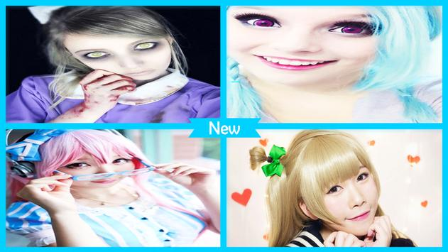 Kawaii Cosplay Makeup Tutorial screenshot 3
