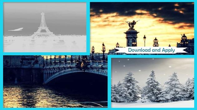 Snow in Paris Wallpaper screenshot 4