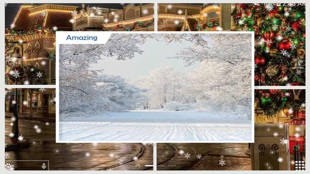 Snow in Paris Wallpaper screenshot 1