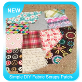 Simple DIY Fabric Scraps Patchwork icon