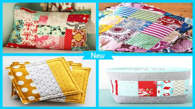 Simple DIY Fabric Scraps Patchwork screenshot 4