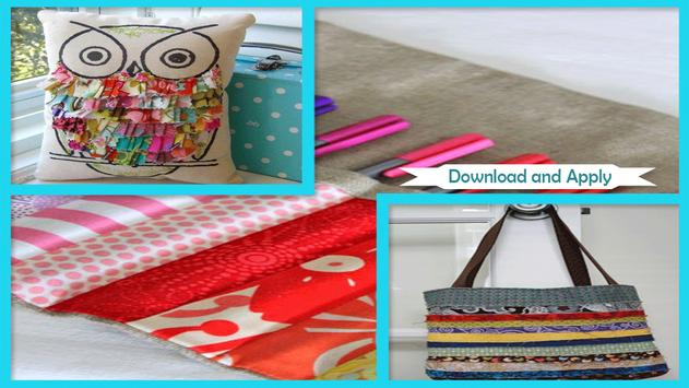 Simple DIY Fabric Scraps Patchwork screenshot 1
