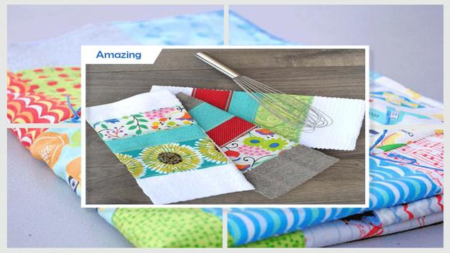 Simple DIY Fabric Scraps Patchwork screenshot 3