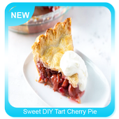 Sweet DIY Tart Cherry Pie icon