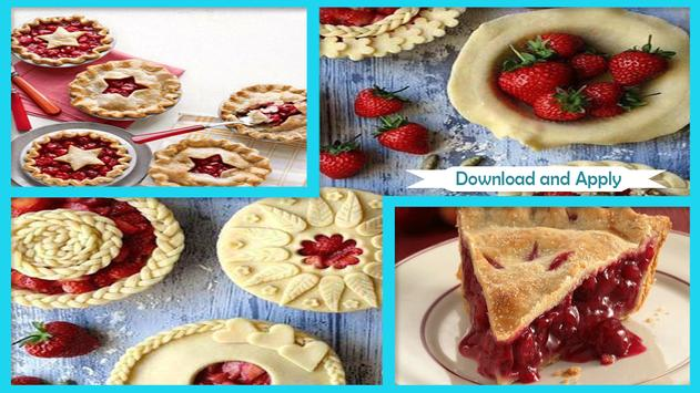 Sweet DIY Tart Cherry Pie poster