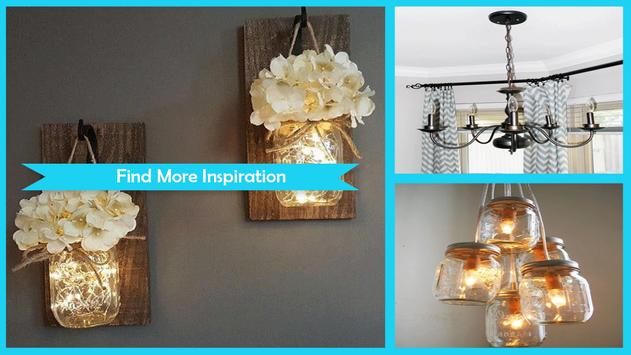 Wonderful DIY Mason Jar Chandelier poster