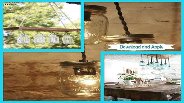 Wonderful DIY Mason Jar Chandelier screenshot 1