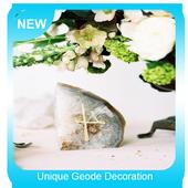 Unique Geode Decoration icon