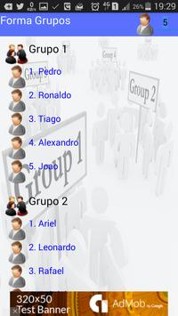 Groups form apk screenshot