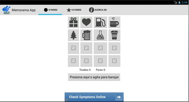 Juego de Memoria screenshot 3