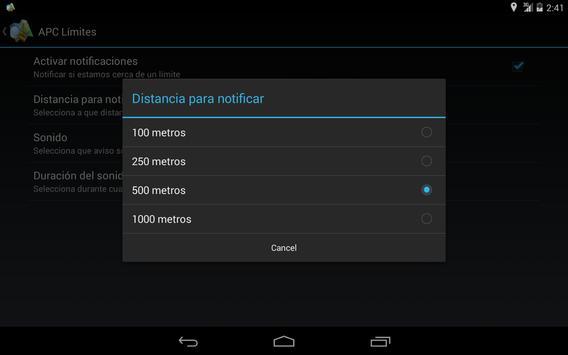 APC Limites apk screenshot
