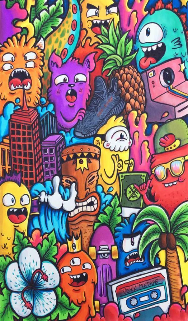 Doodle Art Wallpaper Hd For Android Apk Download