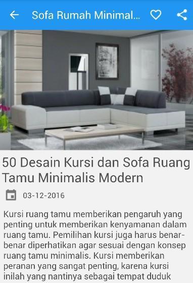 Surprising Desain Sofa Rumah Minimalis Para Android Apk Baixar Camellatalisay Diy Chair Ideas Camellatalisaycom