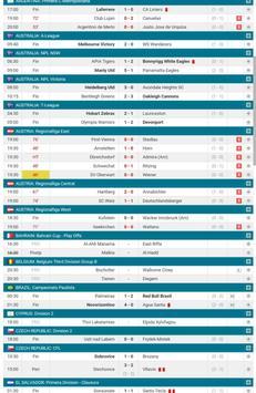 Football Scores LIVE screenshot 1