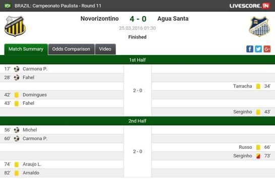 Football Scores LIVE screenshot 3