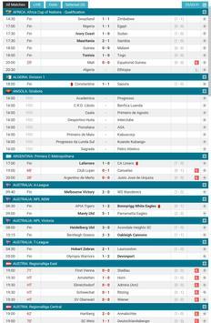 Football Scores LIVE screenshot 4