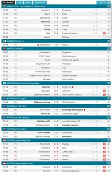 Football Scores LIVE screenshot 8
