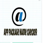 App package Name checker icon