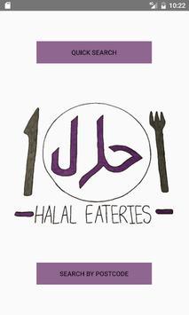 Halal Eateries (Birmingham) poster