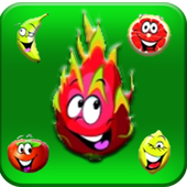 funny fruit link icon