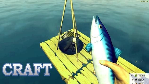The Raft Shark Island poster