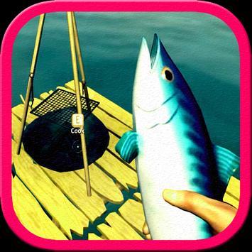 The Raft Shark Island apk screenshot